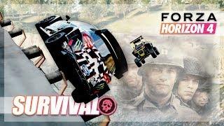 Forza Horizon 4 - Saving Private Jack! Survival w/The Crew