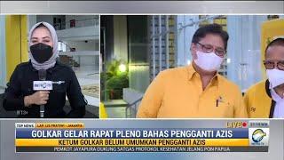 Golkar Gelar Rapat Pleno Bahas Pengganti Azis Syamsuddin