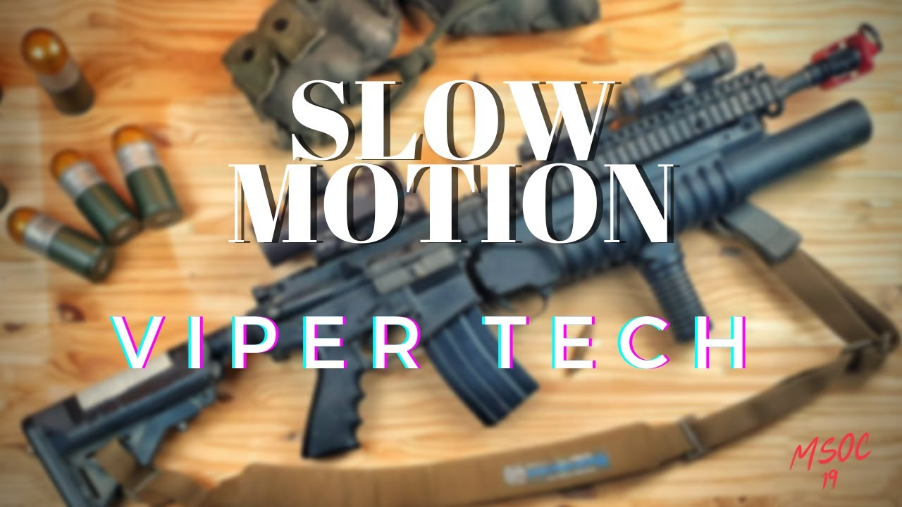 [ SlowMotion ] - M4 GBBR ViperTech by MSOC 19