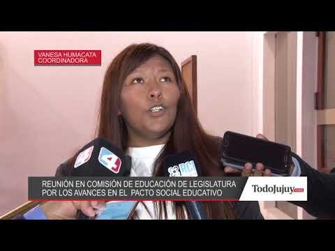Pacto Social por la Educación: expusieron los lineamientos en la Legislatura de Jujuy