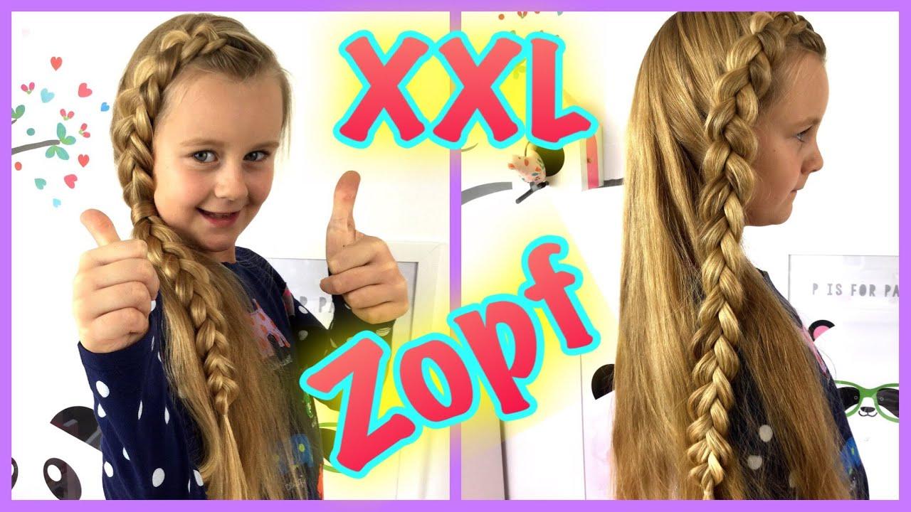 xxl zopf♥ aufliegender zopf♥flechtfrisur♥ holländischer