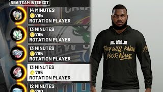 NBA 2k19 MyCAREER - DEADLIEST ALL AROUND SF Marcus Gento Creation + Contract Negotiations! Ep. 1