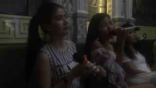 Kha Ly Thuý Diễm song ca karaoke Áng Mây Buồn