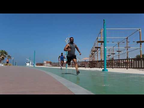 Dubai Fitness Challenge: Kite Beach
