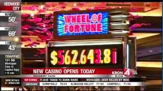 Graton Casino to Open Today(KRON 4's Jackie Sissel View full story at http://news.kron4.com., 2013-11-05T14:46:03.000Z)
