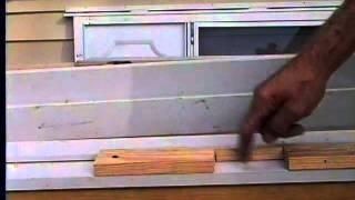 Installing door hinge to jamb