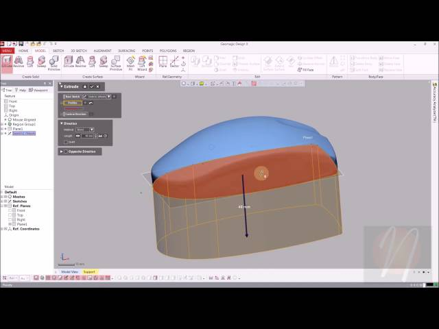Neometrix Geomagic Design X Tutorial 1