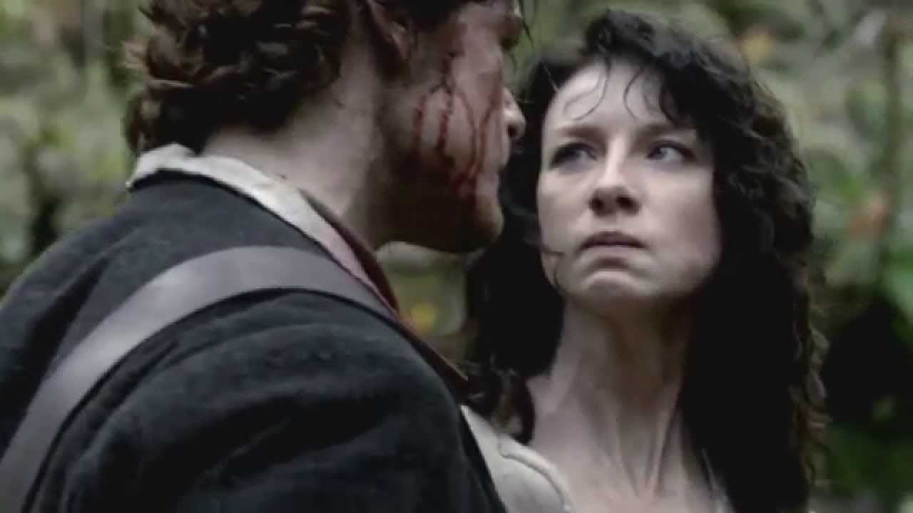 outlander jamie and claire first meet