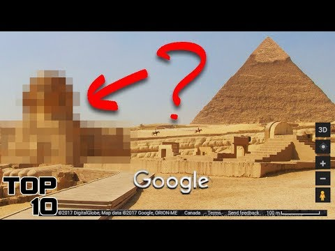 Top 10 Secret Places Google Maps Does NOT Want You To See