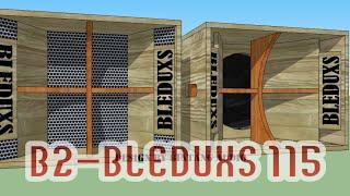 """BOX SPEAKER 15"""" B2-BLEDUXS 115(LOWMID)"""