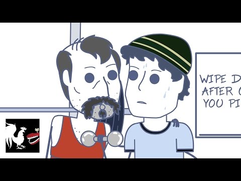 Don't Talk at the Gym - Rooster Teeth Animated Adventures