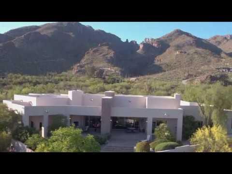 Tucson Arizona Luxury Home For Sale 6381 N Canon del Pajaro