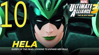 Marvel Ultimate Alliance 3: The Black Order Walkthrough Gameplay  Part 10: Hel
