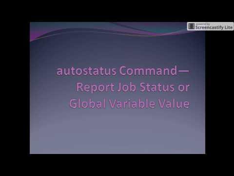 Download Lagu How to check status of job and Global variable