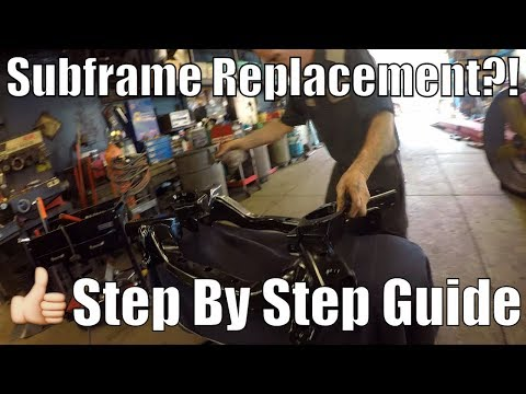 Engine Cradle/Subframe Replacement On Dodge Charger/Challenger Hellcats. Full Guide