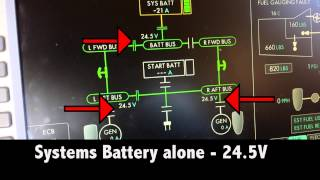 Eclipse 500 - Battery Voltage at start