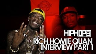 Rich Homie Quan Talks Upcoming Debut Album, New Song With Drake & More With HHS1987