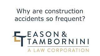 Sacramento Construction Accident Attorney: Why are construction accidents so frequent?