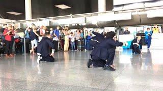 Catania, flashmob sulle note di Mamma mia per i 200 mila passeggeri Dat