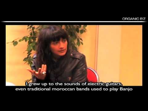 Tango with Hindi Zahra - Interview @ Bourges by Organic B'z
