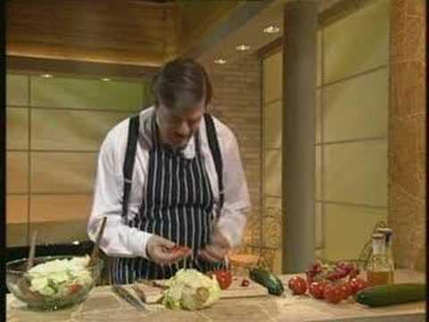 A Bit of Fry and Laurie - The Futility of Making Salad
