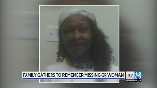 Family gathers to remember missing GR woman