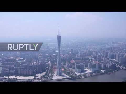 LIFT OFF! World's fastest elevator UP and running in Guangzhou