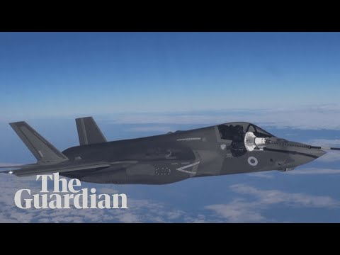 F-35 stealth fighter jets land in Norfolk