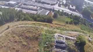 Tel Yokneam Aerial View 2 (BibleWalks.com)