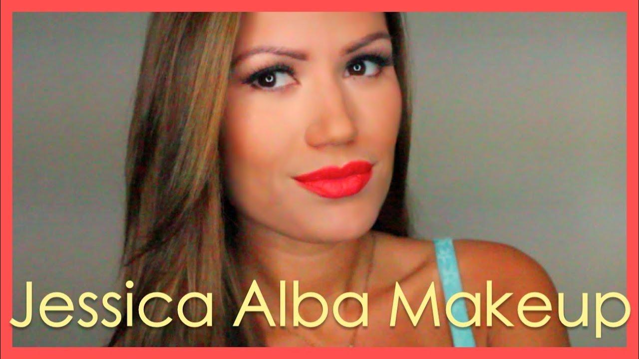 jessica alba golden globes makeup tutorial youtube