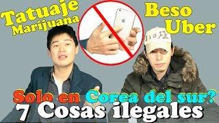 7 cosas ilegales en Corea del Sur | No las hagas nunca