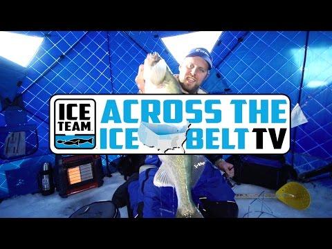 Giant Lake Winnipeg Dream Walleyes | Across the Ice Belt TV Season 1