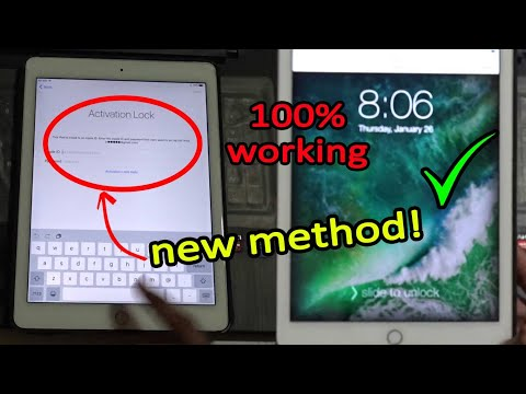 2019 NEW METHOD! Working Unlock/Bypass iCloud activation lock method! iCloud activation