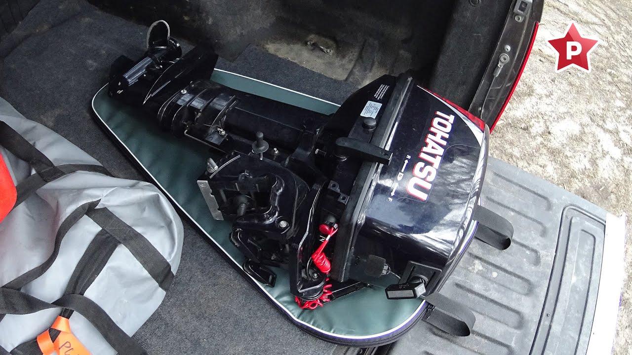 Мягкая подкладка под мотор