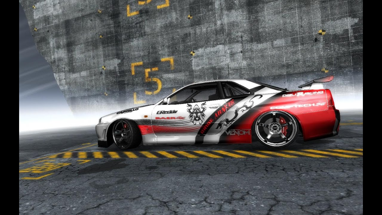 Hd Nfs Cars Wallpapers Need For Speed Pro Street Nissan Skyline Gt R R34 Youtube