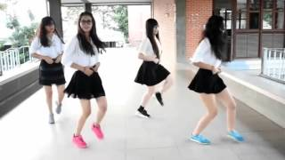 Cute asian girls dance Tez Cadey