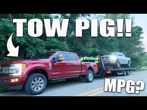SHOCKED by towing results.. 2019 Ford F-250 6.7 Powerstroke