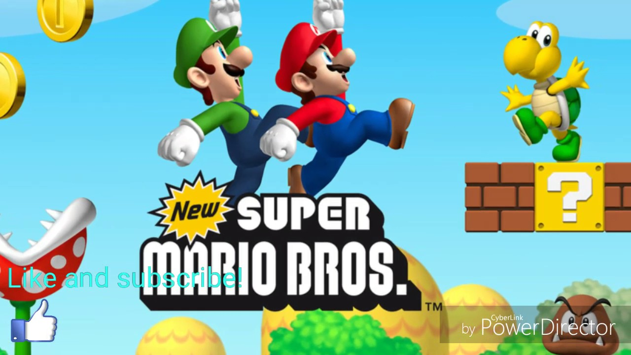 Download New Super Mario Bros NDS ROM
