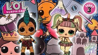 LOL Surprise Confetti Pop Series 3 Wave 2 Clues + Clubs Will You Get Punk Boi Maybe Unicorn?