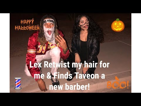 LEX AND TAE HAIR TUTORIAL HALLOWEEN EDITION (SHORT Q&A) WHEN I GET HAIR