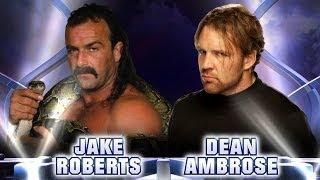 "Jake ""The Snake"" Roberts vs. Dean Ambrose: Fantasy Match-Up"