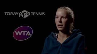 Caroline Wozniacki 2016 Toray Pan Pacific Open Quarterfinal Interview