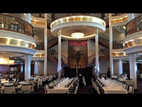 DJI Osmo W/Z-Axis On Royal Caribbean Adventure Of The Seas Inside Walking Tour And Helipad 4k
