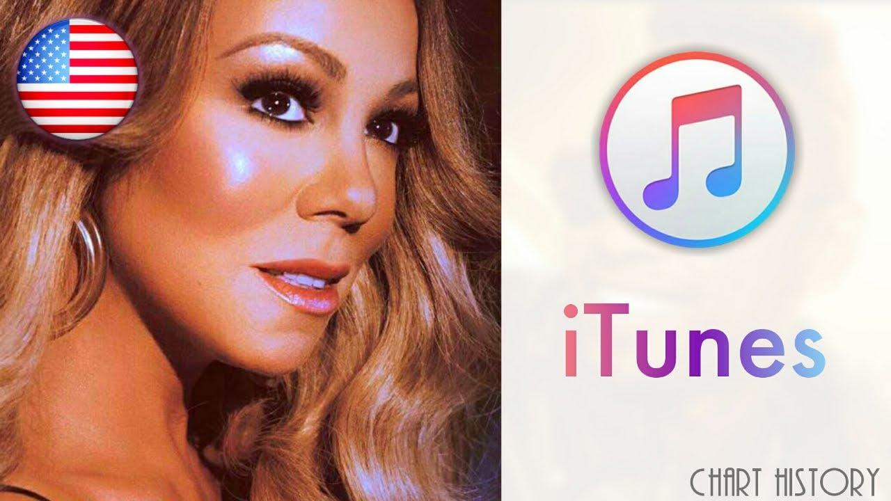 Mariah Carey - iTunes Chart History (US)