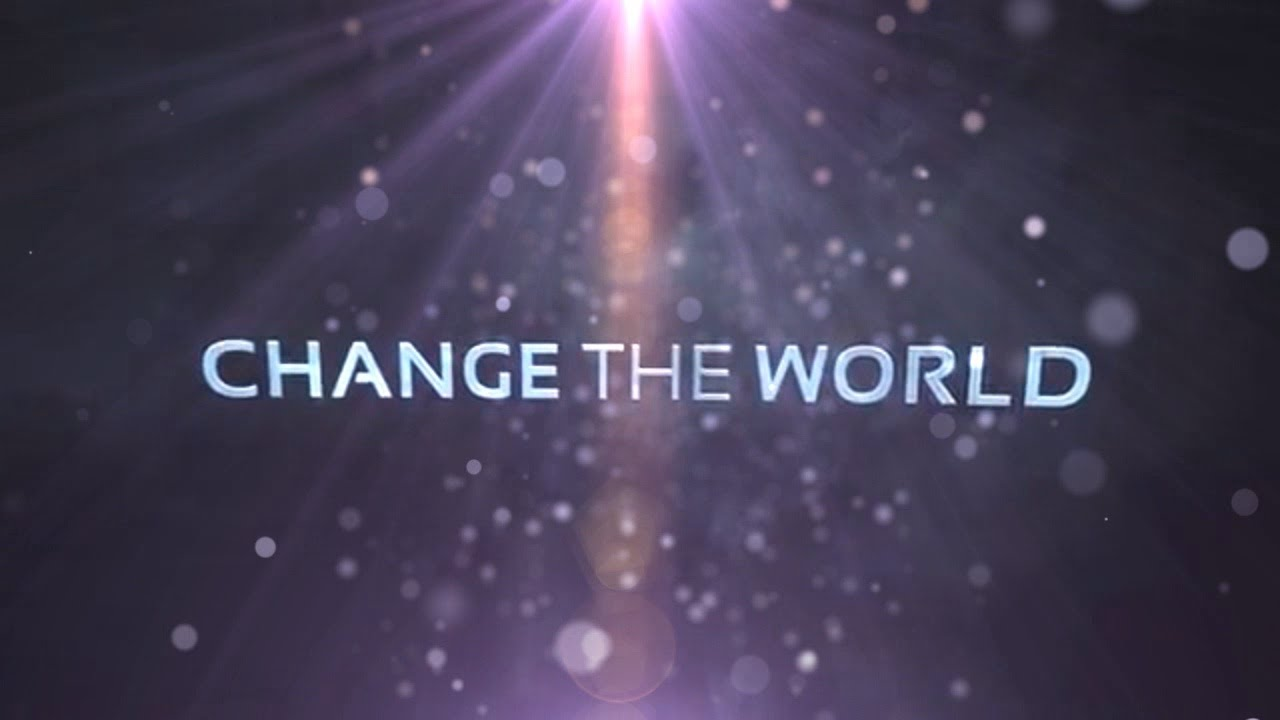 how will i change the world essay