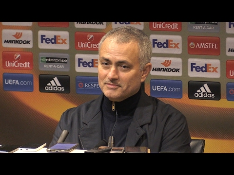 Manchester United 3-0 St Etienne - Jose Mourinho Full Post Match Press Conference - Europa League