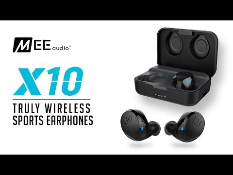 Mee Audio X10 Truly Wireless Sports Earphones