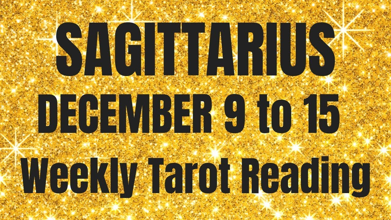 sagittarius love horoscope weekly 3 to 9 by tarot