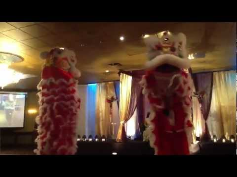 Jing Ying Lion Dance Team - Wedding - July 21,2012