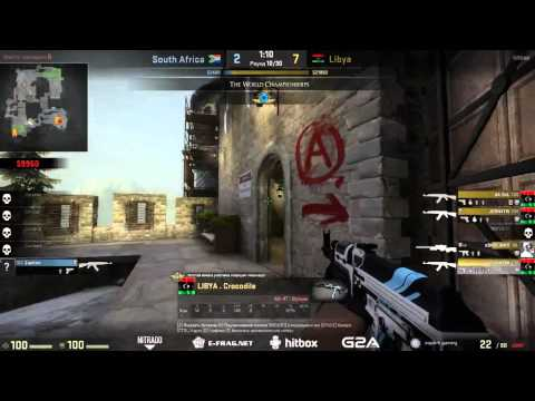 Libya vs South Africa-CS:GO-World Championships 2015 African